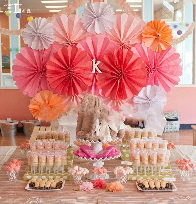 结婚用品 婚庆装饰彩色牡丹花球 纸花球婚房装饰花球批发14寸35cm