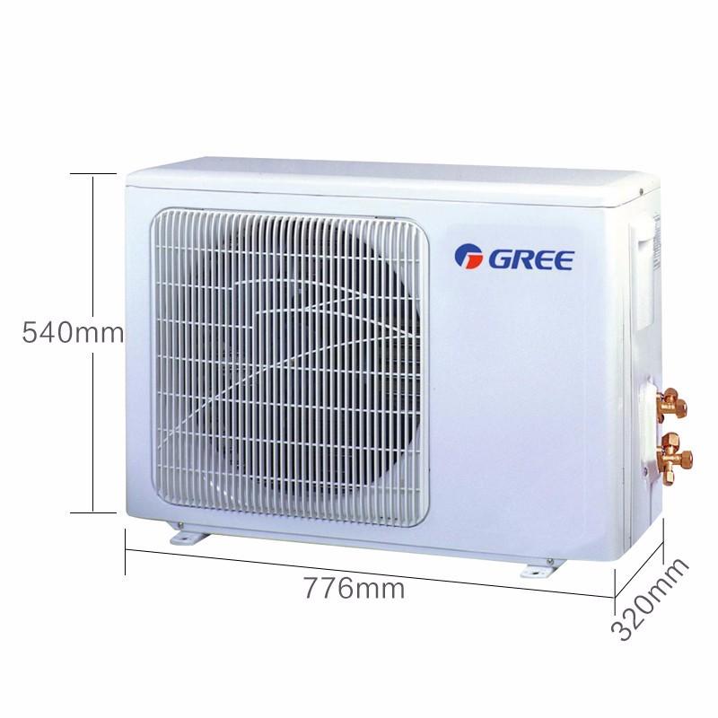 格力(gree)变频 静音省电 润典 壁挂式空调 kfr-26gw