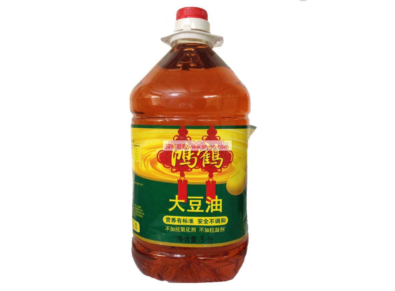 鸿鹤大豆油